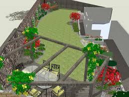 wide shallow garden design ideas google search garden