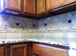 attractive diagonal shape tiles kitchen backsplashes with brown