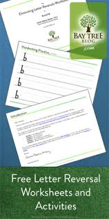 free download letter reversal worksheets and activities bay