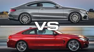 mercedes c class vs s class mercedes c class coupe vs bmw 4 series coupe