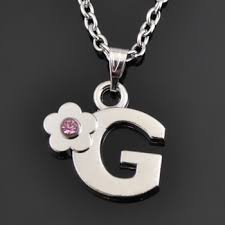 Name Pendant Necklace Top Selling Free Shipping First Letter Of Name Pendant Necklace
