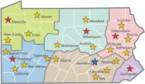 map of williamsport pa office locations
