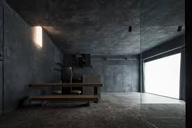 elegant concrete apartment in shibuya tokyo japan
