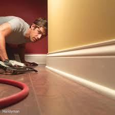 How To Remove Laminate Flooring Flawless Floor Sanding Family Handyman