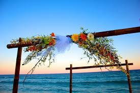 wedding arches bamboo siesta key weddings wedding packages officiants