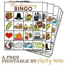 printable bingo for thanksgiving happy thanksgiving