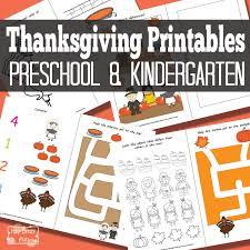 thanksgiving preschool pack itsy bitsy