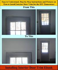 Ebook Interior Design Installing Interior Door Trim Ebook Install Interior Door Trim