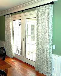 Curtain Patio Door Patio Door Curtains Aypapaquericoinfo Curtain Rods For Sliding