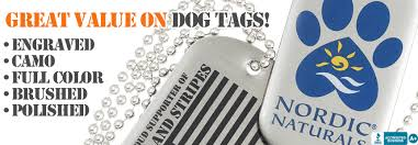 laser engraved dog tags custom dogs tags laser engraved brushed antiqued polished and