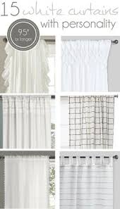 get the look white linen drapes nature decor linens and bedrooms