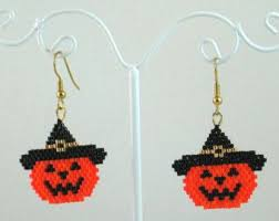 Halloween Jewelry Crafts - 226 best halloween images on pinterest seed beads halloween