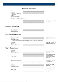 printable resume templates examples updated formats latest