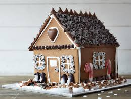 how to make a chocolate gingerbread house food network holiday