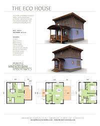 eco home plans floor plan townhouse houses simple build designs builders