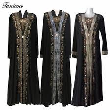 muslim eid abaya kaftan dubai muslim islamic dress women black