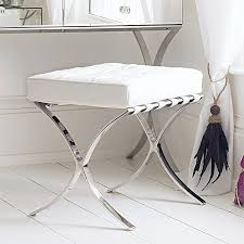 Bathroom Vanity Benches And Stools Endearing Great Vanity Chair With Wheels Bathroom Chairs At
