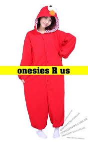Elmo Halloween Costumes Elmo Onesie U2013 Onesies Animal Onesies Kigurimi Onesies
