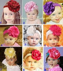 big flower headbands hot sale baby hairband big flower headbands baby hairband