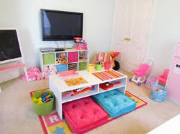 table spinning center designs the idea of table and cushions in the center of the playroom