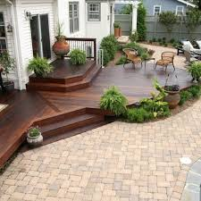 Deck With Patio Designs Backyard Deck Designs Plans Photo Of Goodly Patio Design Ideas And