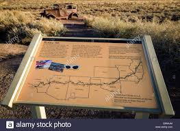 Route 66 Map by Map Of Route 66 Stock Photos U0026 Map Of Route 66 Stock Images Alamy