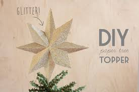 christmas tree toppers diy paper tree topper hello lidy