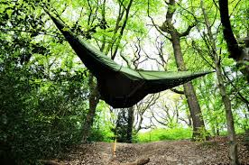 tentsile tent hangs like a hammock protects from zombies