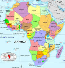 map without country names political map of africa without country names images free