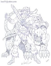 battle cat u0026 he man pencil in israel algarin s u0027s 12 anime