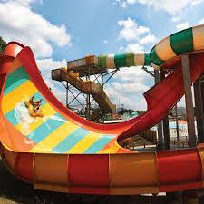 Six Flags Georgia Water Park Behemothbowl 40 Tornadowave 60 Proslide