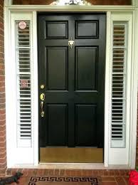 Fiberglass Exterior Doors With Sidelights Front Door With Sidelights And Transom Front Entry Door With