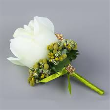 corsage prices white yellow blue wedding flowers groom boutonniere best