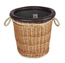 decorative laundry hampers somerset willow round log basket store the merchant fox