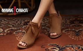 minnetonka womens boots size 11 s minnetonka minnetonka for hsn