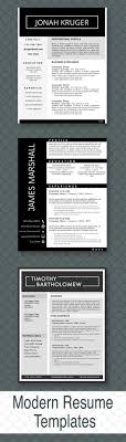 Eye Catching Resume Templates 68 Best Professional Resume Template Images On Resume