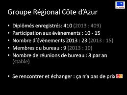 bureau des diplomes 8 groupe régional côte d azur assemblée régionale janvier ppt télécharger