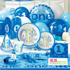 1st birthday party supplies daily necessities gift party supplies birthday boy 1st 6 senior