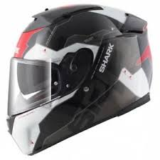 speed r sauer shark speed r s2 sauer ii krw black motorcycle helmet small