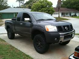 lifted nissan car nissan titan extended cab car features pictures prices review