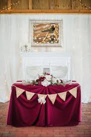 bride and groom sweetheart table rustic barn wedding bride and groom sweetheart table with burlap