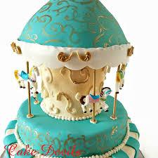 carousel cake topper fondant carousel cupcake toppers carousel cake