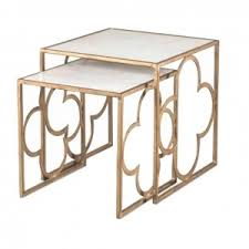 Quatrefoil Side Table Interior Design The Kellogg Collection