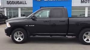 dodge ram black black 2010 dodge ram 1500 sport at scougall motors in fort