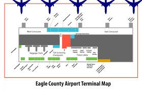 Atlanta Airport Terminal Map Fly Vail Flights To Vail Vail Airport Map Incoming Flights