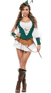 Female Robin Halloween Costume Sherwood Beauty Robin Costume Female Robin Hood Costume