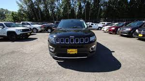2017 jeep compass limited diamond black ht636233 redmond