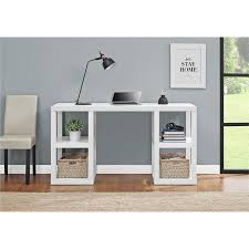amazon com altra furniture altra parsons deluxe desk white