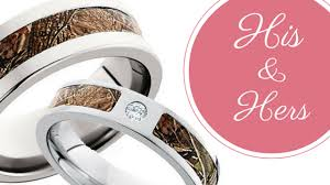 his and camo wedding rings his and hers camo wedding ring sets camokix