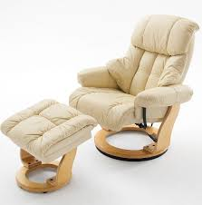 Relaxer Chair Calgary Swivel Relaxer Chair Leather And Oak And